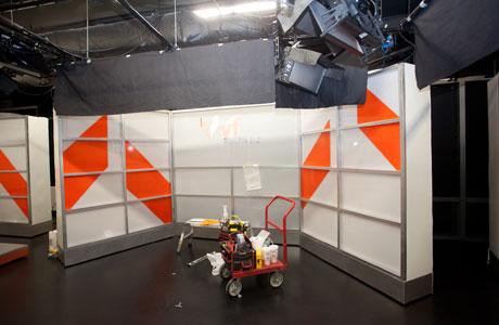 Stage & Set Design - Movie sets, news sets, theater sets