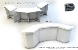 news desk design