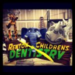 Dentist Sign for kids jungle environment